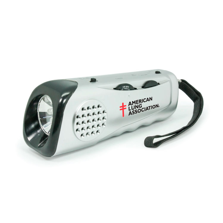 RD330 EMERGENCY FLASHLIGHT RADIO