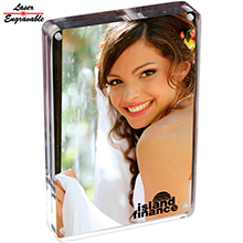 AC4X6<Br><br>4X6 TWO SIDED ACRYLIC PHOTO FRAME