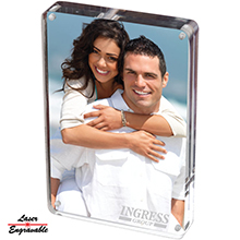 AC5X7<Br><br>5X7 TWO SIDED ACRYLIC PHOTO FRAME