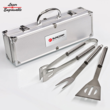 BBQ03<Br><br>DELUXE 3 PC BBQ TOOL SET
