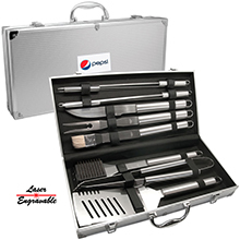 BBQ10<Br><br>DELUXE 10 PC BBQ TOOL SET