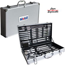 BBQ24<Br><br>DELUXE 24 PC BBQ TOOL SET