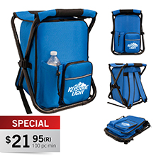 CC550 ONSHORE COOLER BACKPACK CHAIR