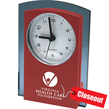 ZCK128<Br>CLOSEOUT<br>TOWER DESK CLOCK