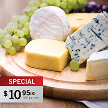 CS910<Br><br>Normandy 5 Piece Cheese Set / Cutting Board
