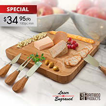 CS920 ROMAGNA CHEESE BOARD SET