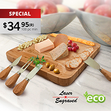 CS920<Br><br>ROMAGNA CHEESE BOARD SET