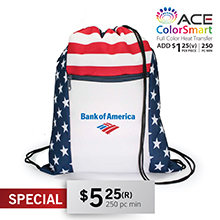 DB155 PATRIOTIC DRAWSTRING