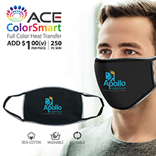 FM030 REFLECTIVE COTTON MASK