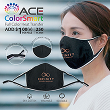 FM035 3D REFLECTIVE COTTON FACE MASK