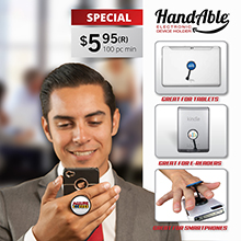 H622 HANDABLE - MOBILE DEVICE HOLDER