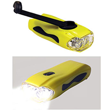 LL031 OVERSEAS<Br>FACTORY DIRECT<br>DYNAMO TRI-LED FLASHLIGHT