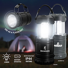 LL038<Br>NEW ARRIVAL<br>2-in-1 LED LANTERN AND FLASHLIGHT / CAMPING LANTERN