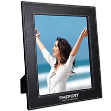 LT8X10<Br><br>8X10 LEATHERETTE PHOTO FRAME