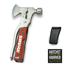 MT995<Br><br>HATCHET & HAMMER 13 FUNCTION MULTI-TOOL
