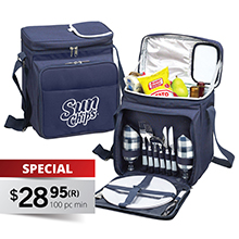 PS811 SOMERTON 2-PERSON PICNIC COOLER SET