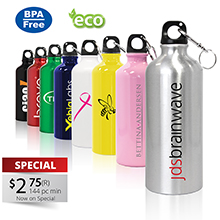 SM620 MORGAN - 20 OZ ALUMINUM SPORTS BOTTLE