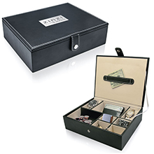 VB010<Br><br>LEATHERETTE VALET BOX
