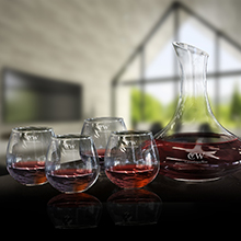 WS625<Br>NEW ARRIVAL<br>5 PC WINE DECANTER SET