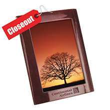 ZRW5X7<Br>CLOSE OUT<br>ROSEWOOD 5 X 7 PHOTO FRAME