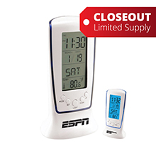 ZTC165<Br>CLOSEOUT<br>CONTEMPORARY DIGITAL TOWER ALARM CLOCK
